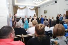 Праздничный новогодний концерт учащихся МОУ